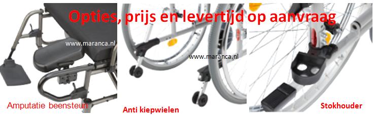 rolstoel afneembare armsteunen