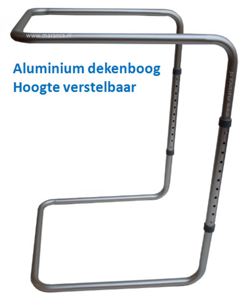Aluminium dekenboog met klikverstelling