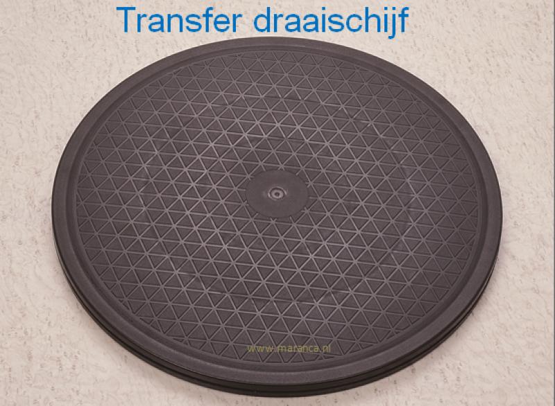 Transfer draaischijf