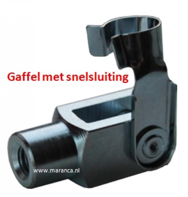 Gaffel staal verzinkt