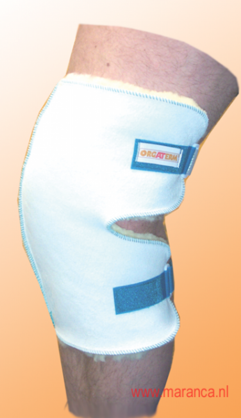 Schapenvacht kniebeschermer