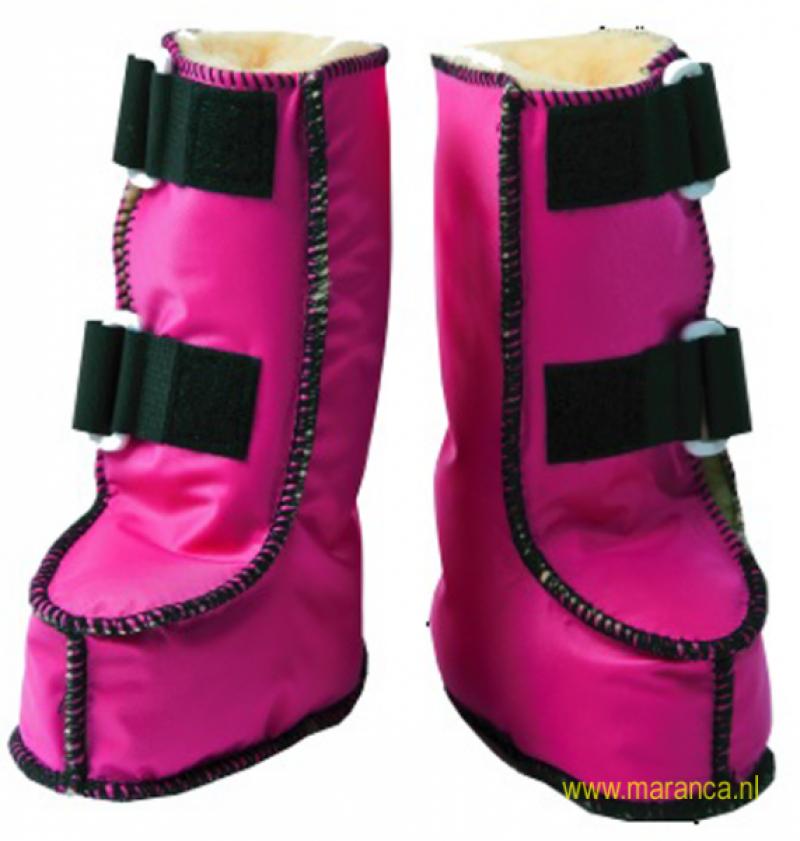Schapenvacht laarzen nylon