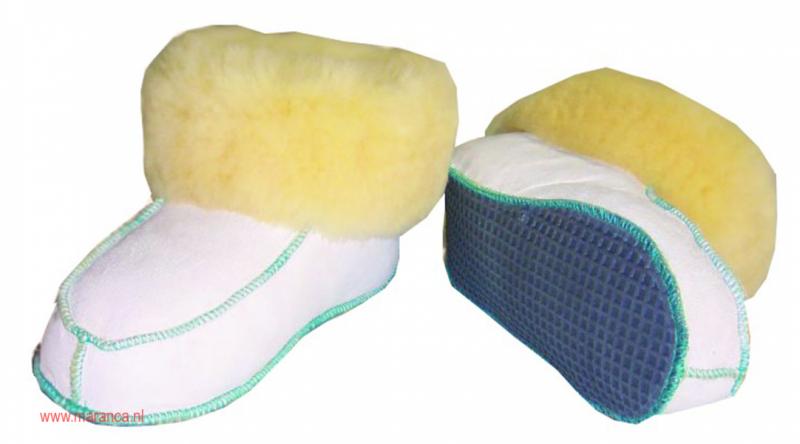 Schapenvacht pantoffels