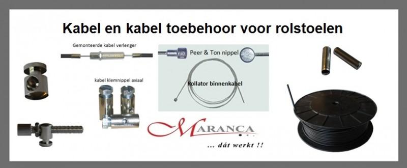 Kabel en toebehoor voor rolstoelen