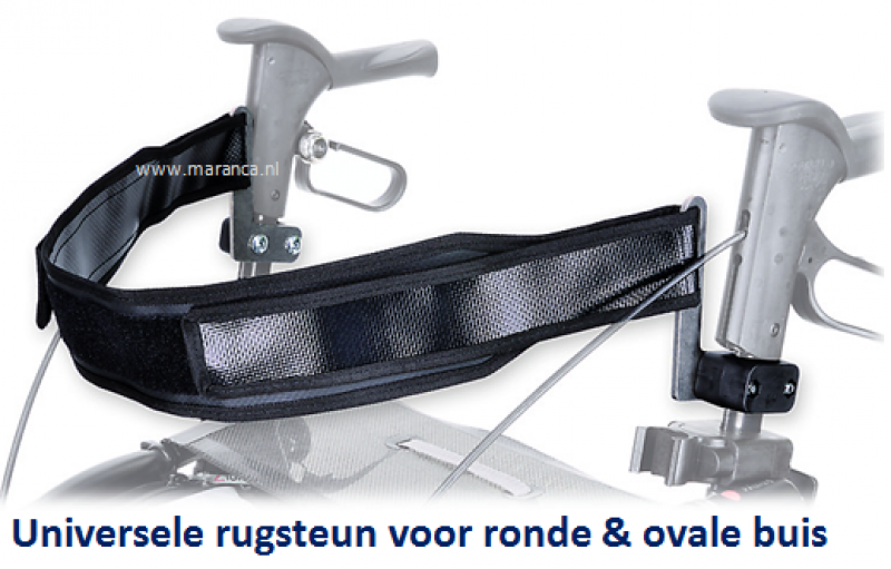 Universele rugband voor ronde en ovale buis