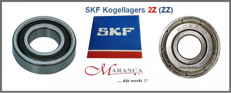 SKF kogellagers 2Z (ZZ) uitvoering