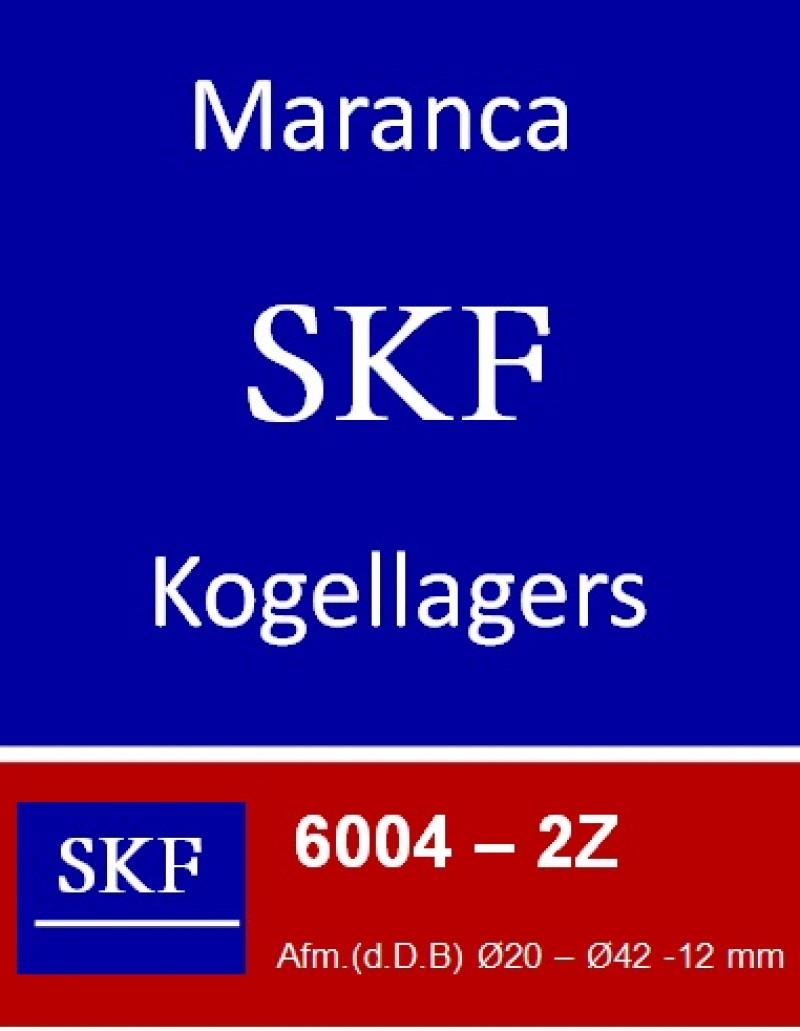 SKF kogellager 6004 2Z (ZZ)
