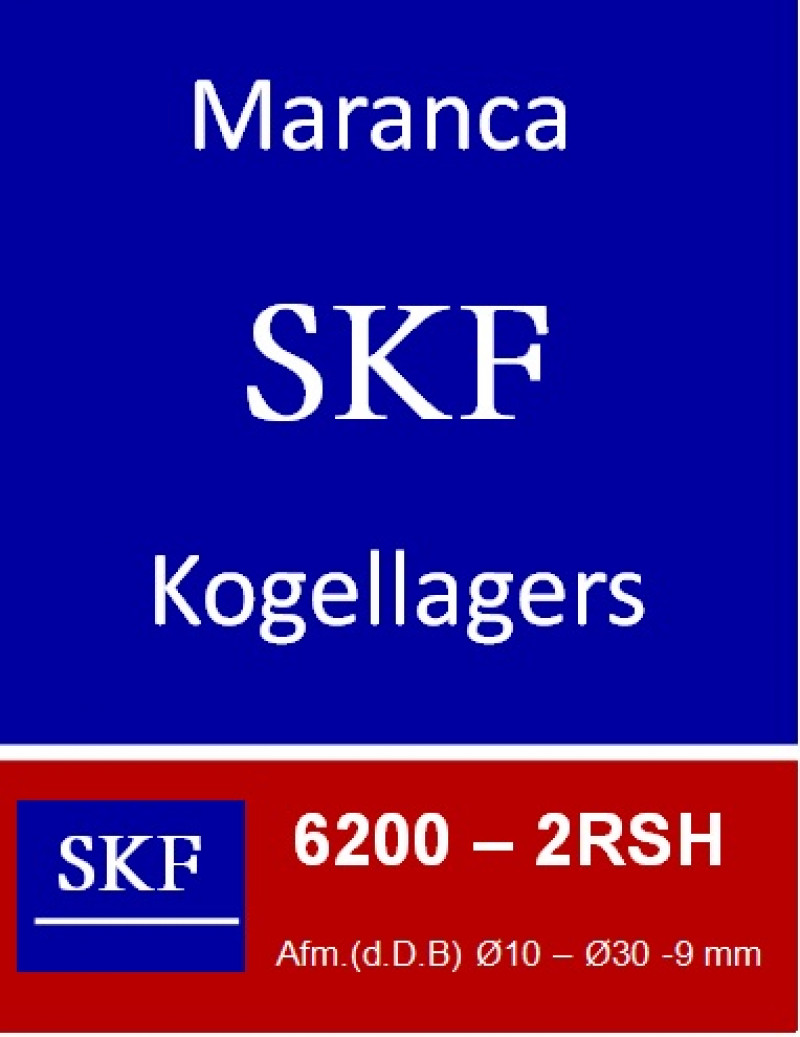 SKF kogellager 6200 2RS