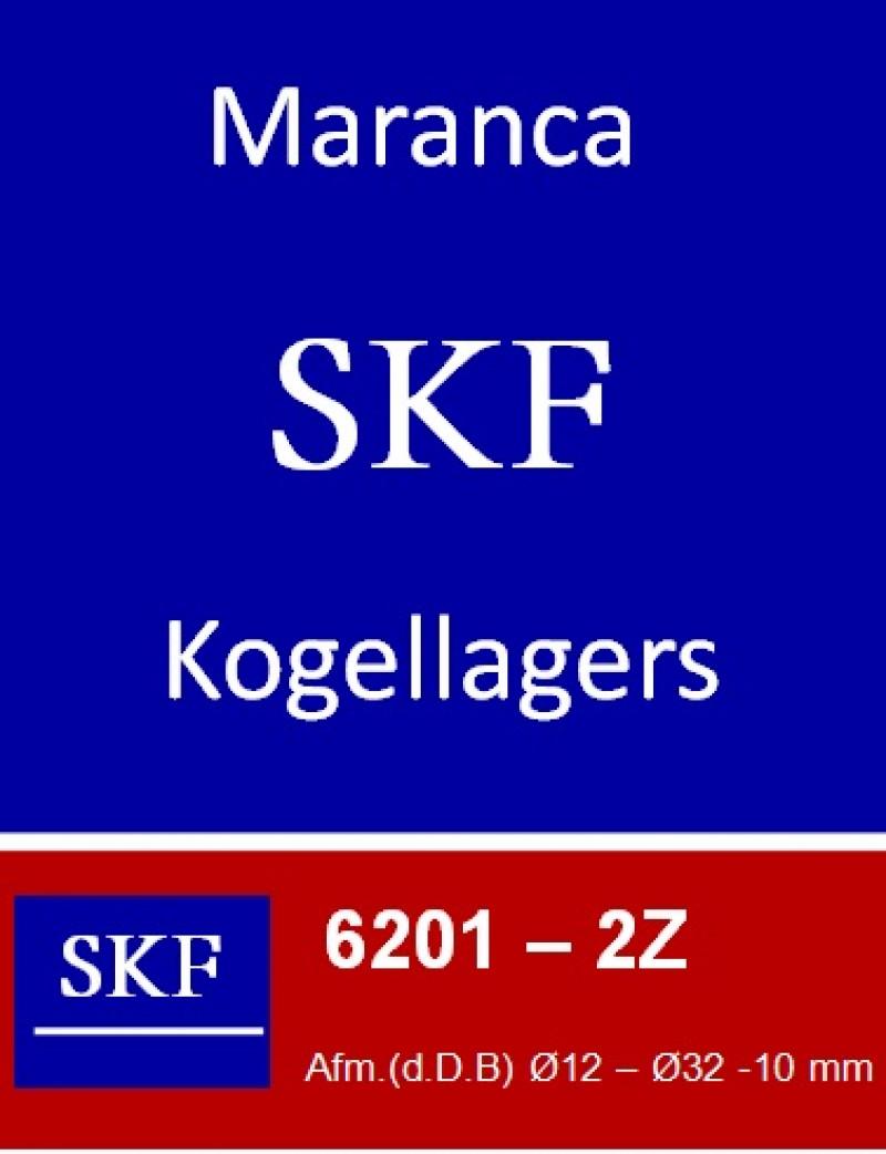 SKF kogellager 6201 2Z (ZZ)