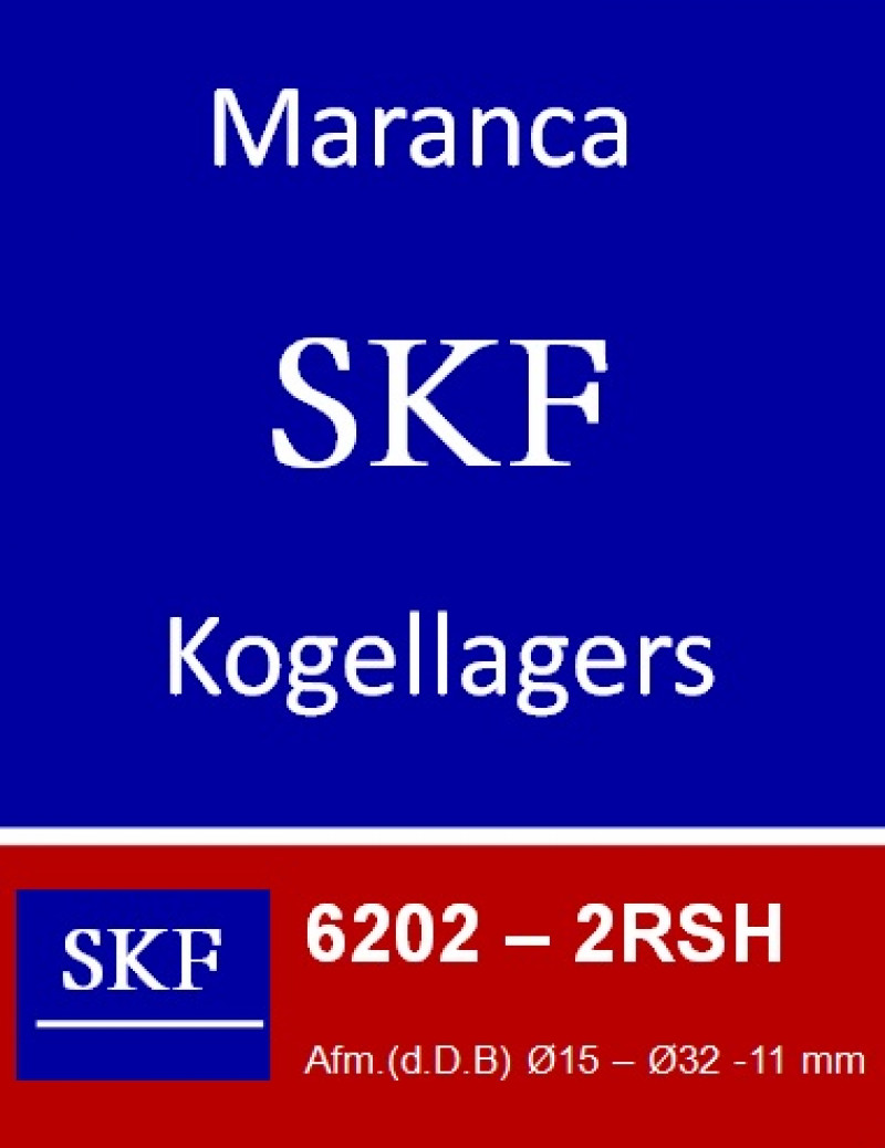 SKF kogellager 6202 2RS