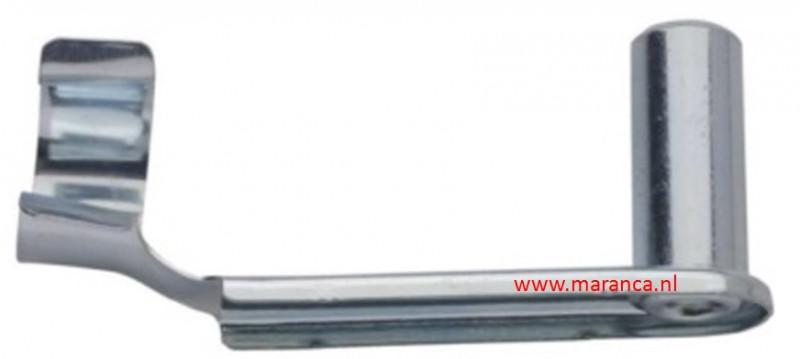 Snelsluiting M 6 x 12 staal verzinkt