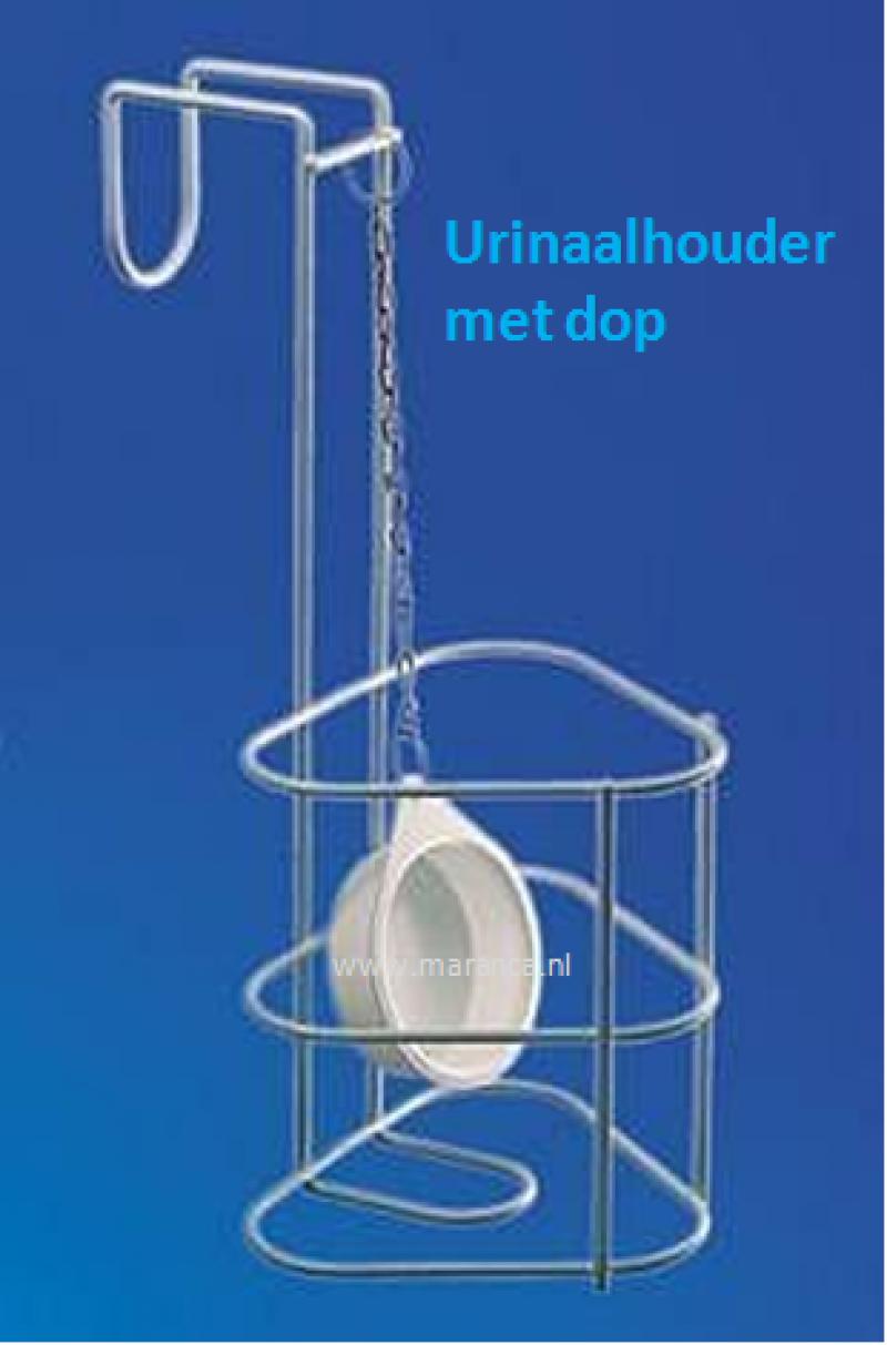 Urinaalhouder met dop