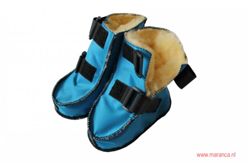 Schapenvacht schoenen nylon